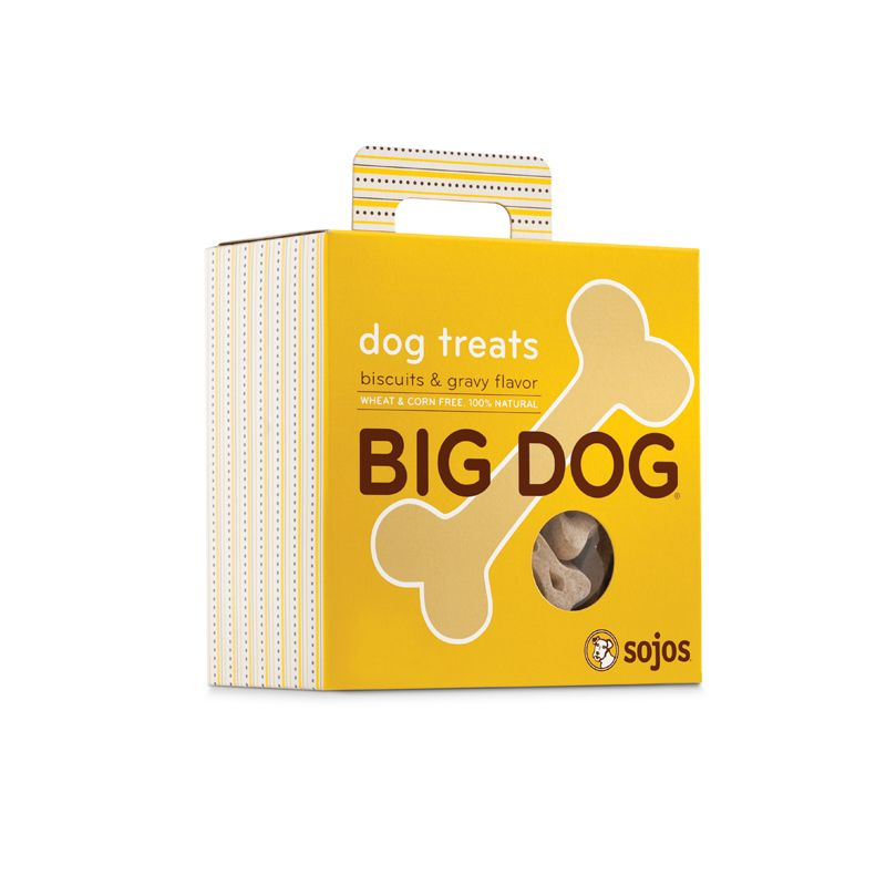 Sojos SOJOS BIG DOG BISCUITS & GRAVY TREATS