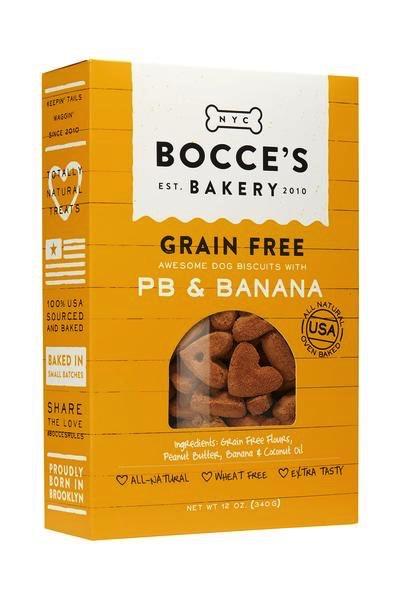 Bocces Bocce's Grain-Free PB & Banana Treats
