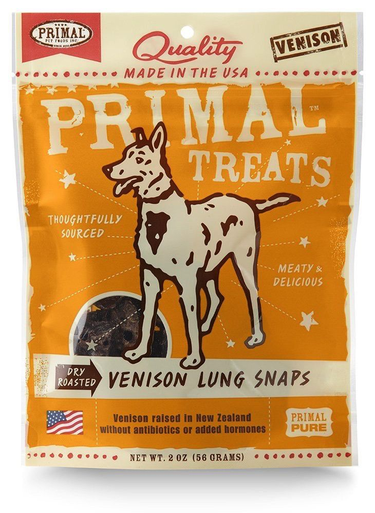 Independent Primal Venison Lung Snaps