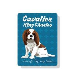 Independent King Charles Cavalier Sign Blenheim
