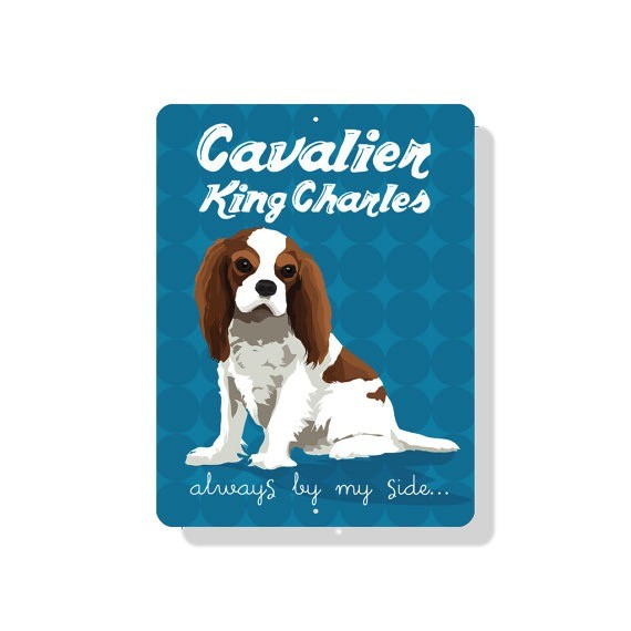 Independent King Charles Cavalier Sign Blenheim