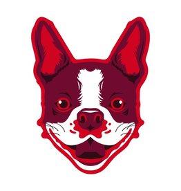 GoldenDoodle, LLC Boston Terrier Car Magnet