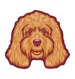 GoldenDoodle, LLC Cockapoo Car Magnet