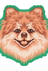 GoldenDoodle, LLC Pomeranian Car Magnet