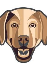GoldenDoodle, LLC Labrador Car Magnet