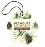 One Fur All Evergreen Forest Car Freshener