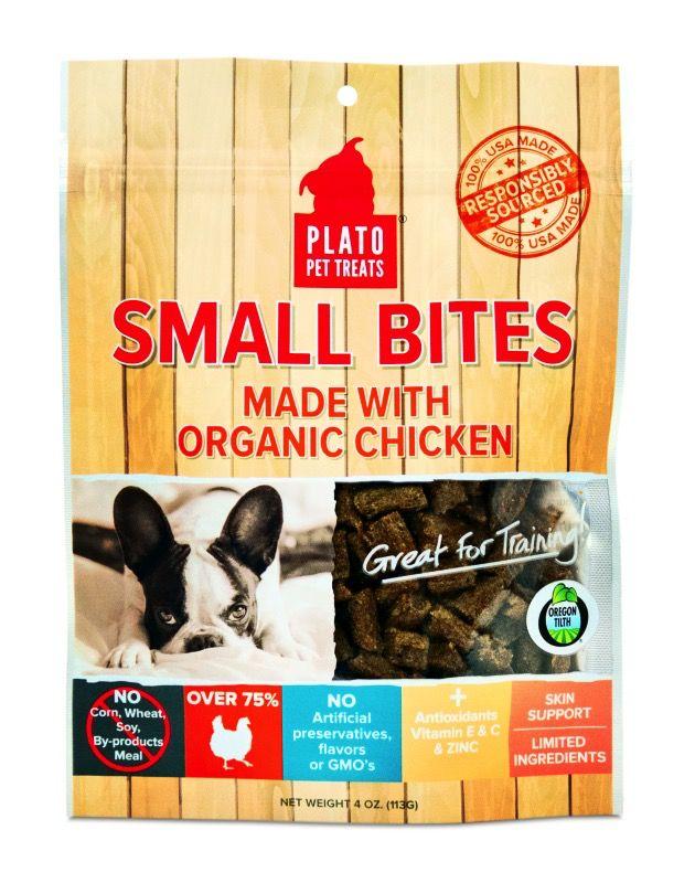 Plato Plato's Small Bites - Organic Chicken