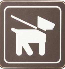 Primitives Pets on Leash Sign