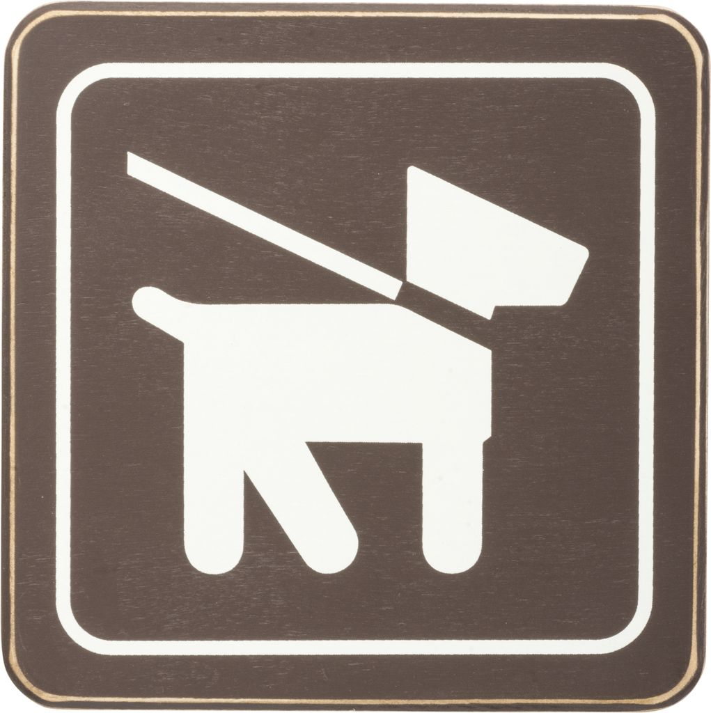 Primitives Pets on Leash Sign