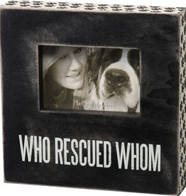 Primitives Who Rescued Picture Frame