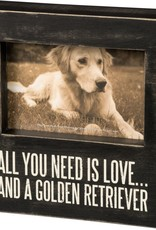 Primitives Golden Retriever Frame