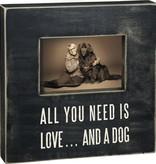 Primitives And A Dog Frame