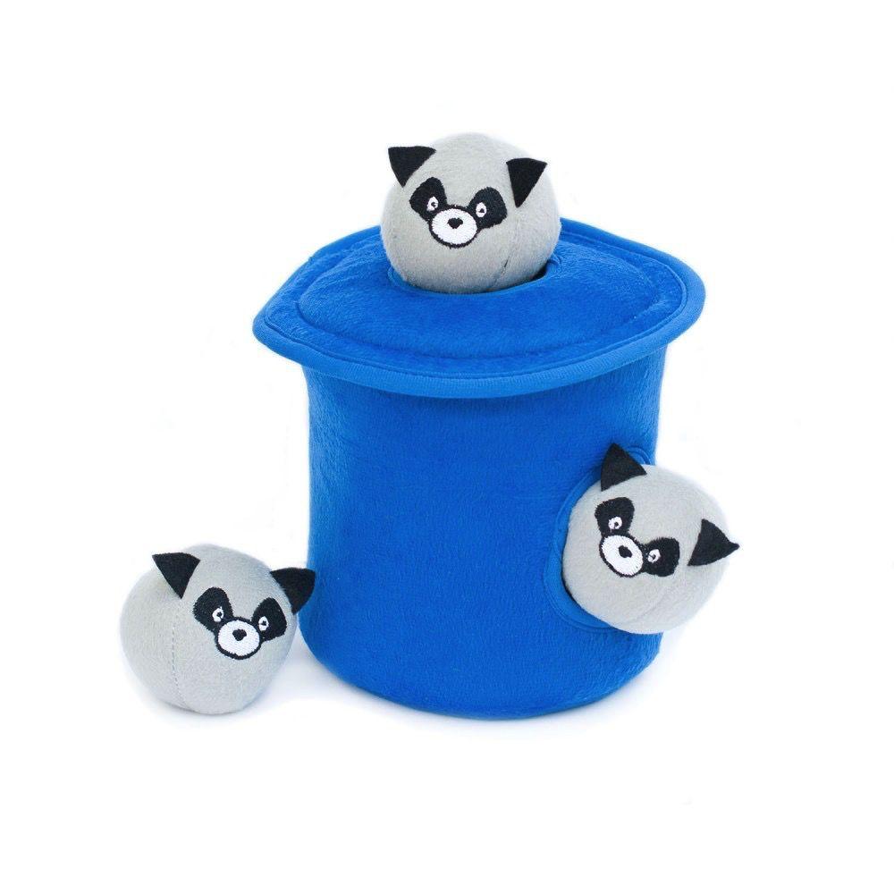 Zippy Paws Trash Can Burrow Toy