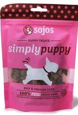 Sojos Sojos Simply Puppy Treats - Venison