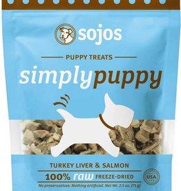 Sojos Sojos Simply Puppy Treats - Salmon