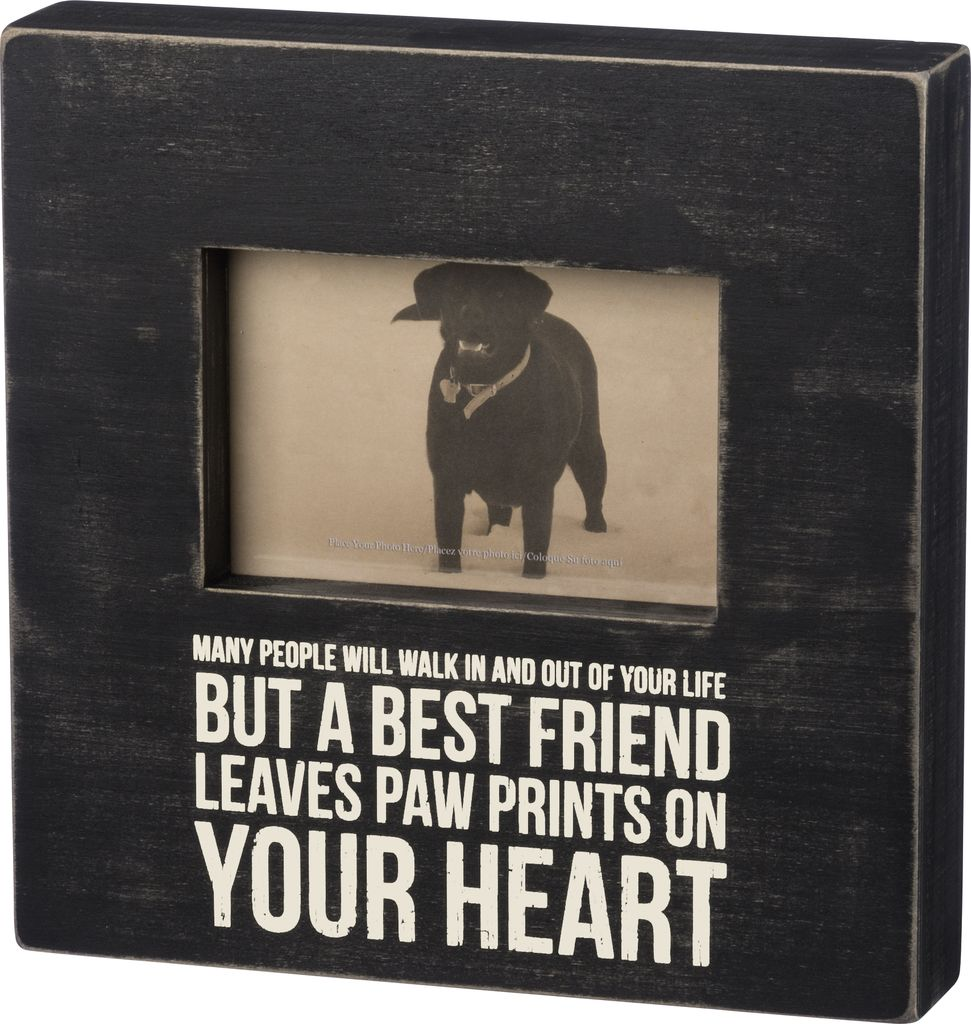 Primitives Best Friend Picture Frame