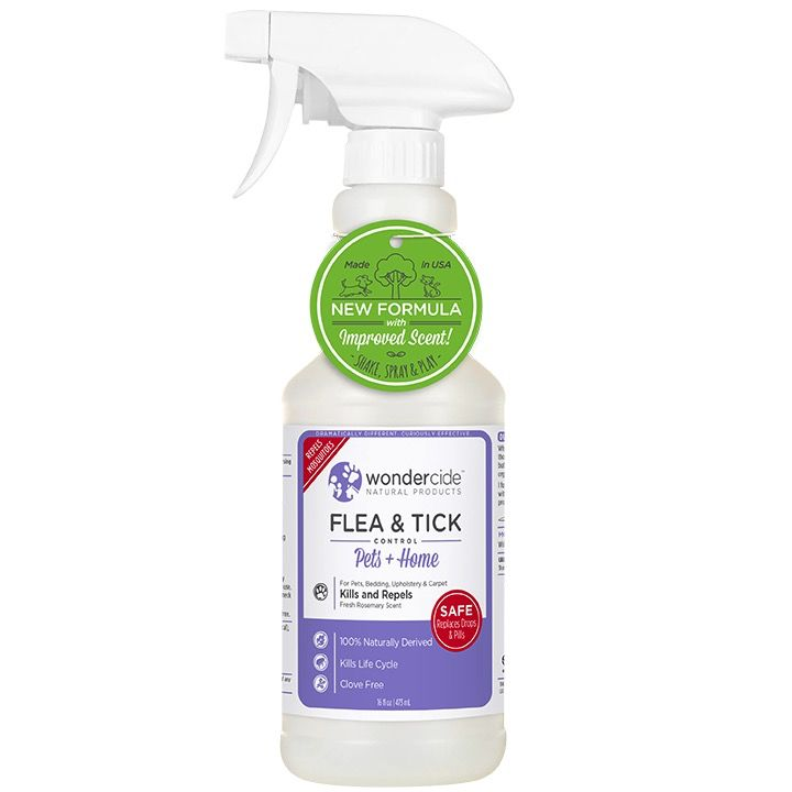 Wondercide Rosemary Flea & Tick Control 16oz.