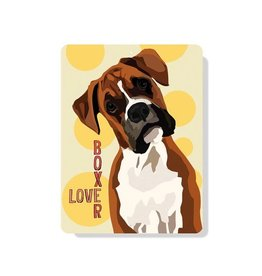 Independent Boxer Love Sign