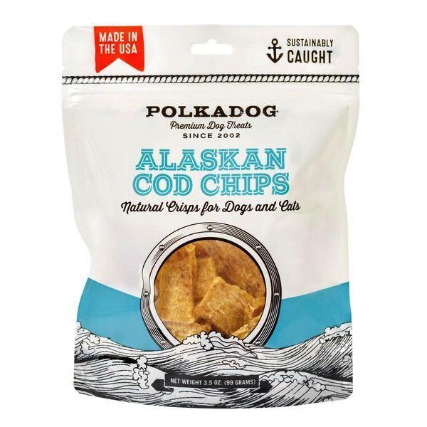 Polka Dog Bakery Alaskan Cod Chips