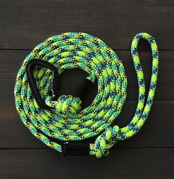 Independent Reflective Lime Leash
