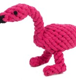 Jax and Bones Flamingo Rope Toy