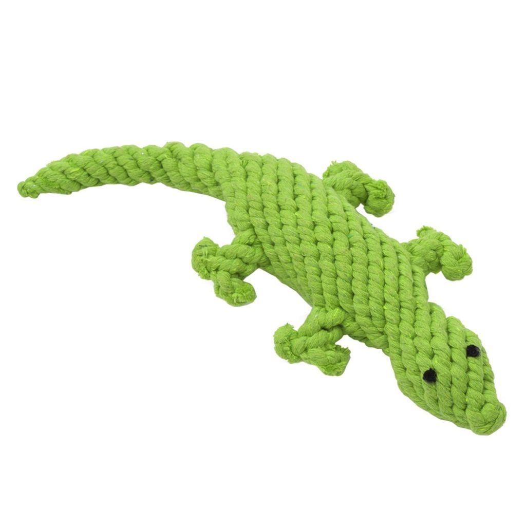 Jax and Bones Lizard Rope Toy