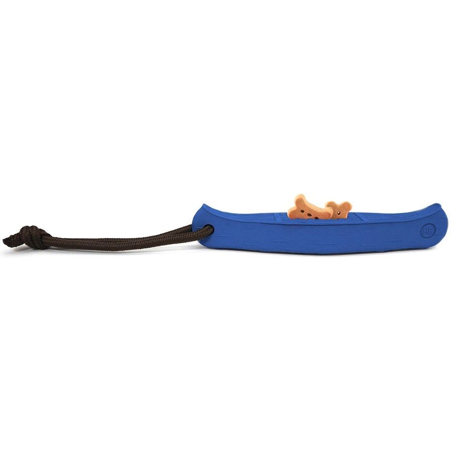 Harry Barker Rubber Canoe Toy Blue