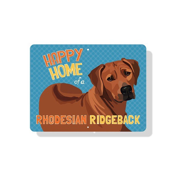 Independent Rhodesian Ridgeback Sign