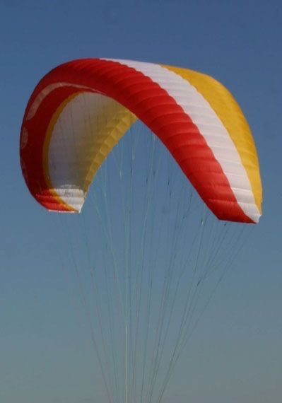 Airwave KISS - DHV 1/2 - M (80-105 kg) - 2006 (Yellow/White/Orange) - (under minor repair) - Used