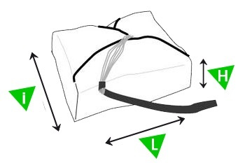 Sup'air Sup'air SHINE - A round Pull-Down Apex parachute