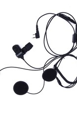 PTT Full-Face Helmet Microphone (K Plug) for Baofeng / Kenwood Radios
