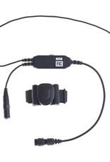 PPT Adapter Jack for 3.5' Earphones With Finger PTT (K Plug) for Baofeng / Kenwood Radios