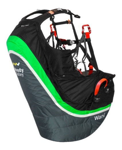 Woody Valley Wani Airbag  Paragliding Harness - XL - 2014 - Used
