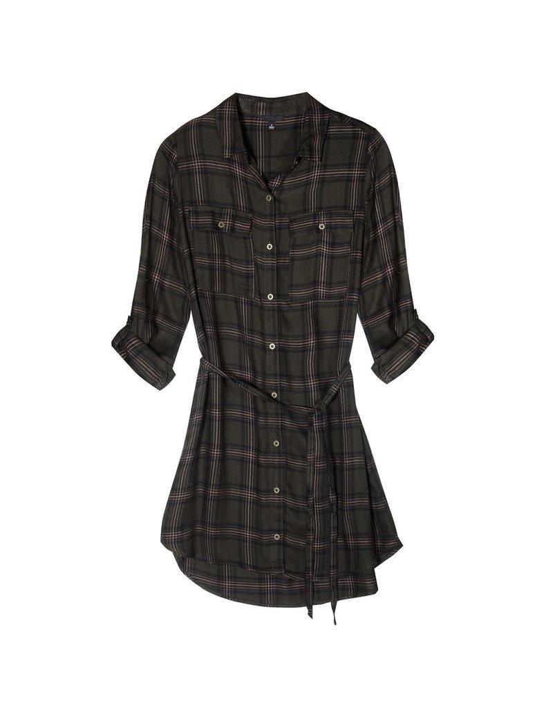Ella Plaid Dress