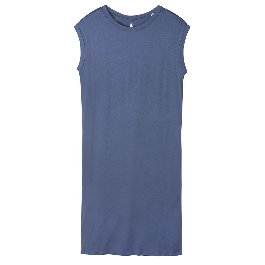 Sleeveless Cupro Dress