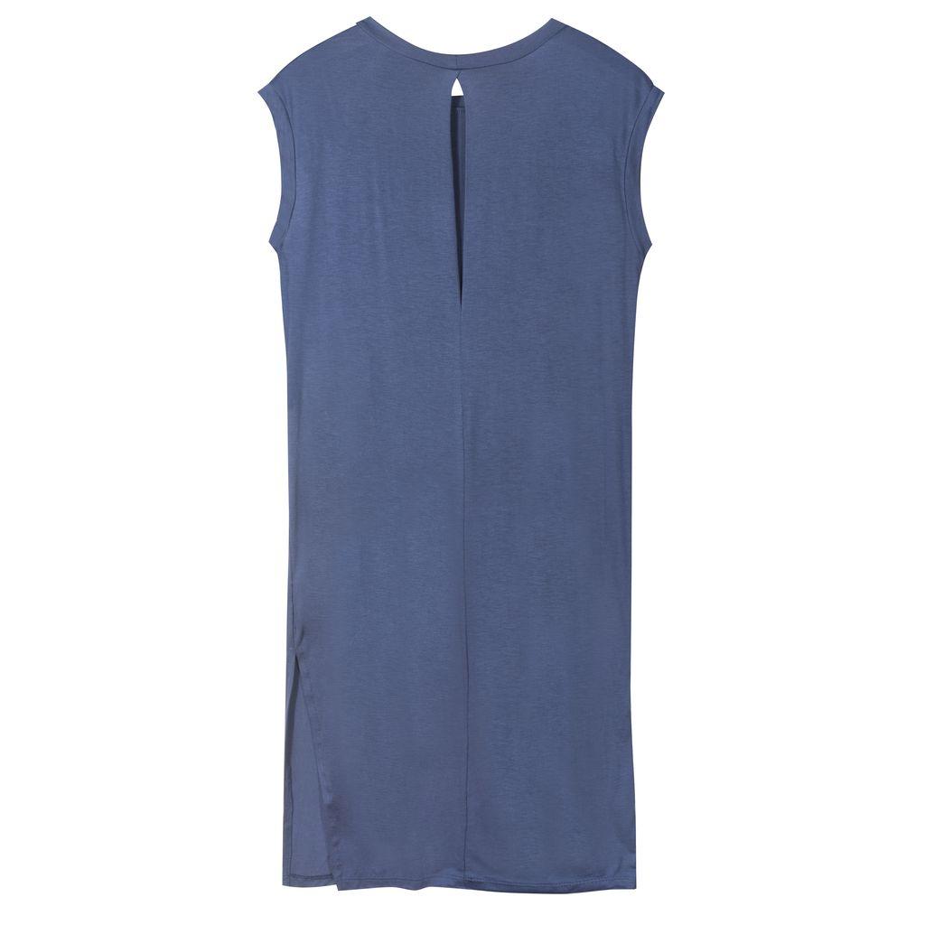 Sleeveless Cupro Dress
