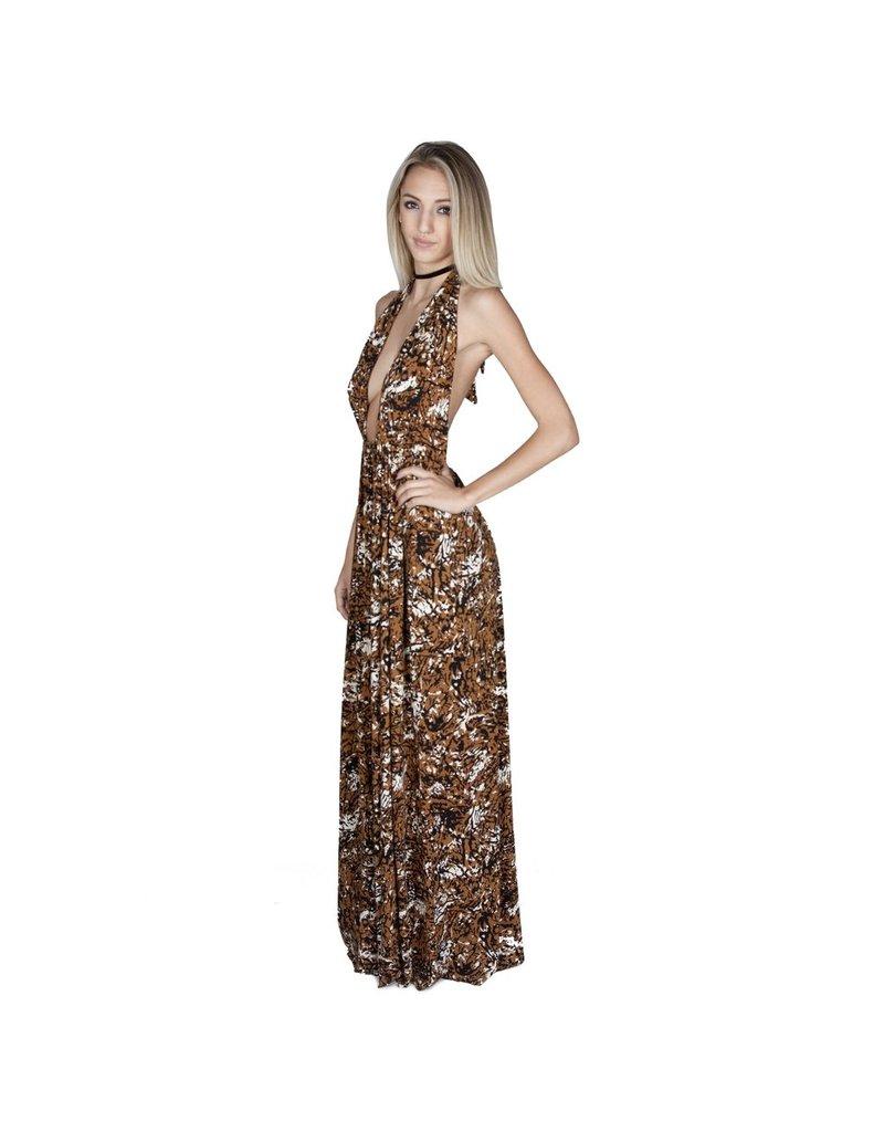 Kateri Dress Print Bengal