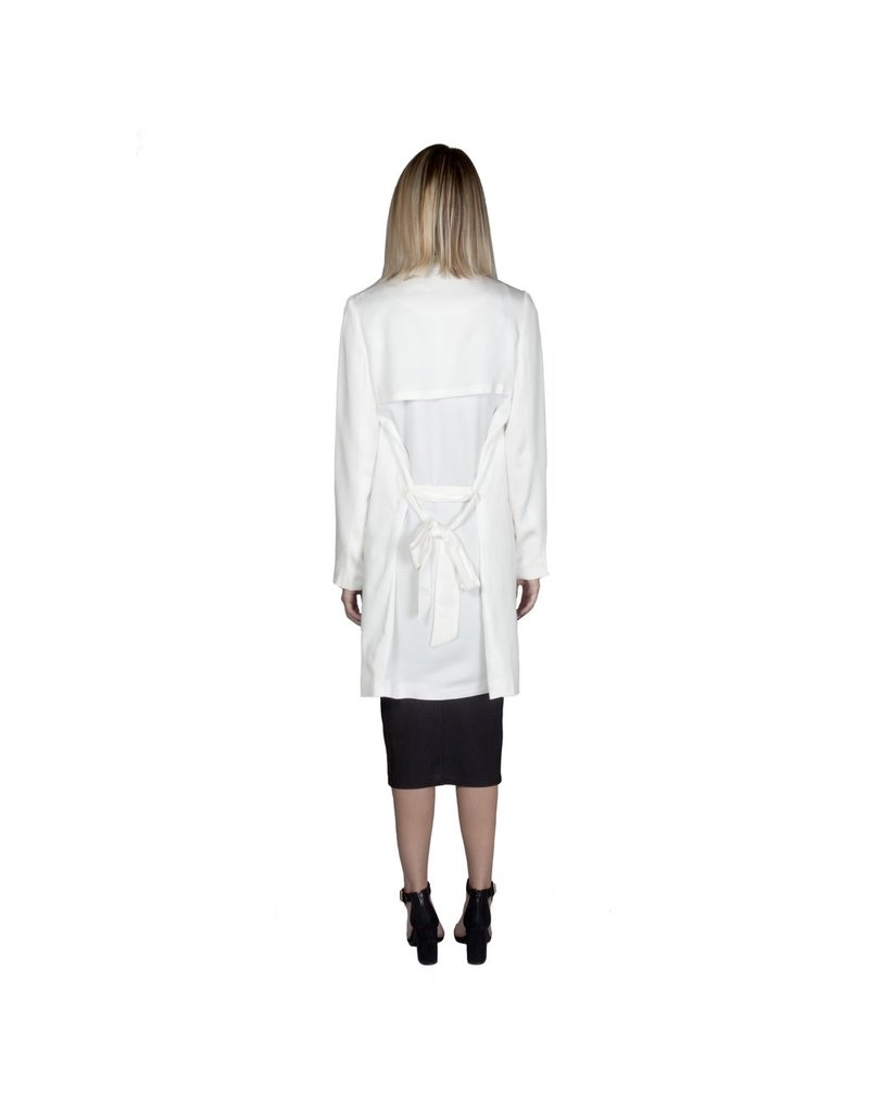 Trench W/ Front Drape