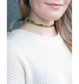 Thin Metallic Choker