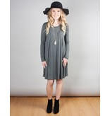Long Sleeve Shift Dress