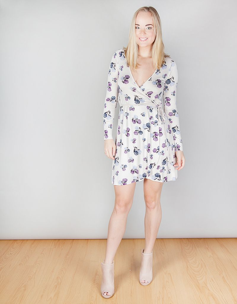 Janice Wrap Dress