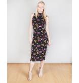 Dark Persimmon Rose Dress