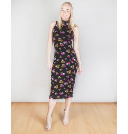 Dark Persimmon Rose Dress
