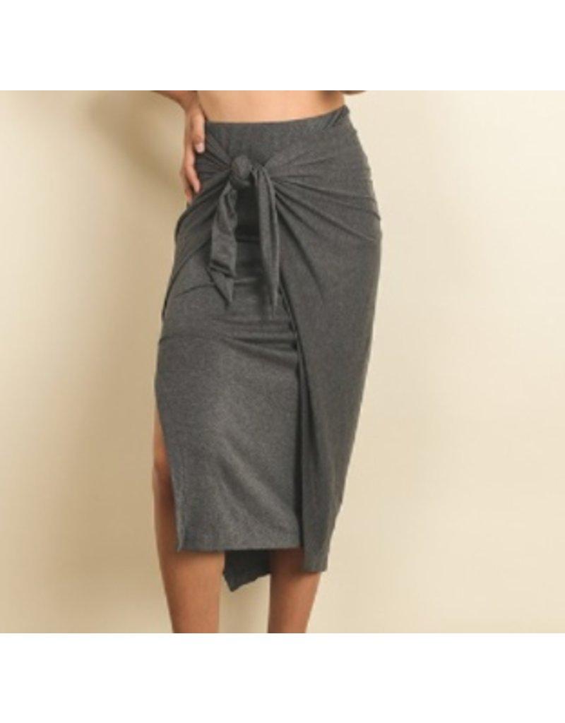 Dress Forum Wrap Side Tie Maxi Skirt