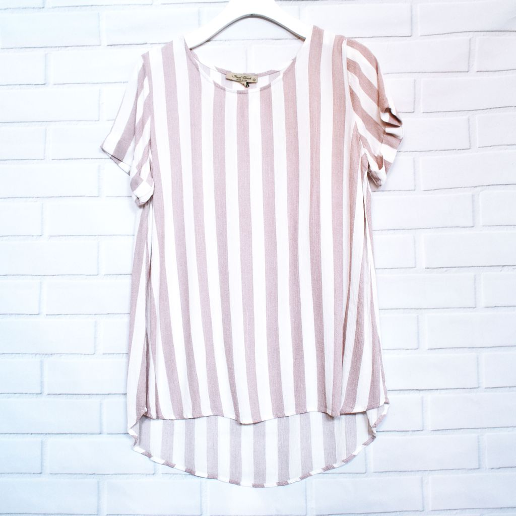 Allison Stripe Top