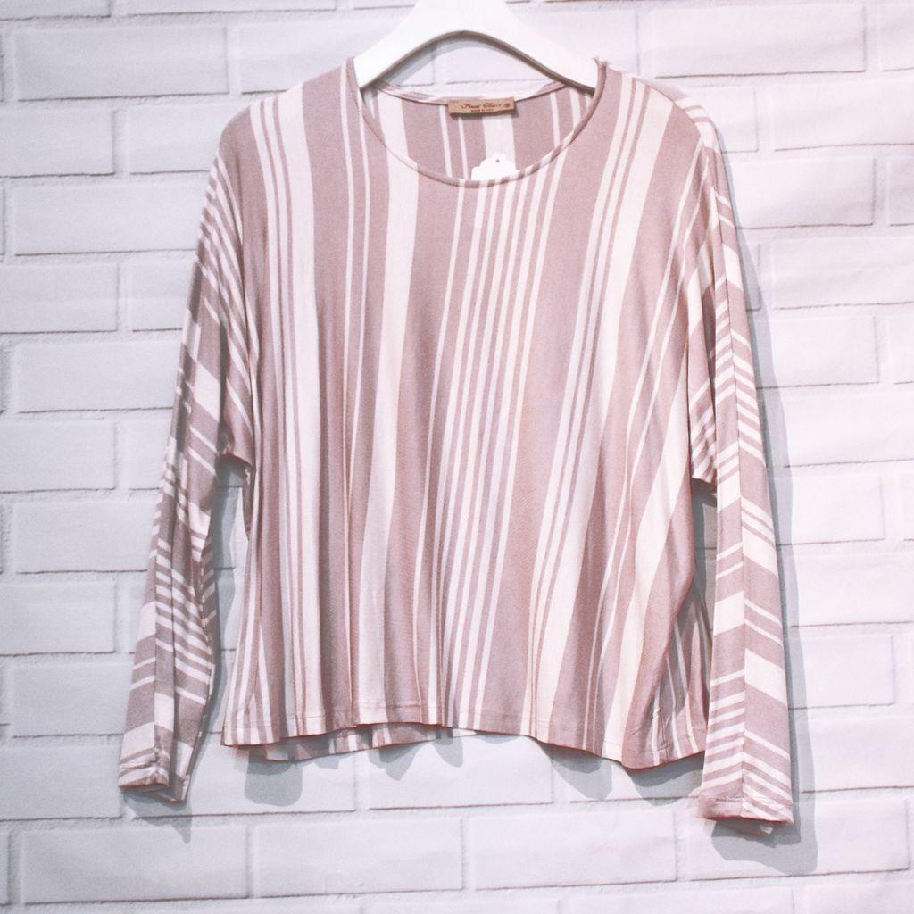 Lesley Stripe Top