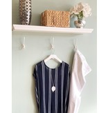 Stripe Cross Back Top