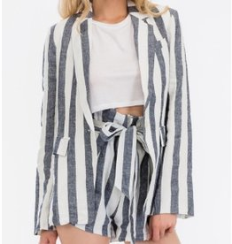 Jones Stripe Blazer