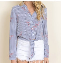 Dance Dance Knotted Top