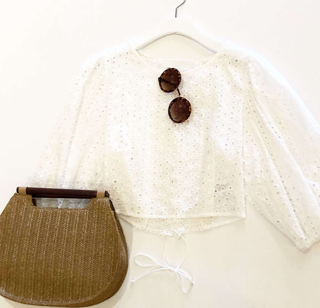 Long Sleeve Lacy Top